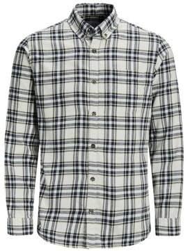 Jack and Jones Long-Sleeve Button-Down Shirt