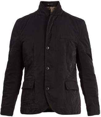 Valentino Stand-collar contrasting-panel jacket