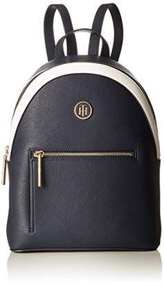 Tommy Hilfiger Women AW0AW05122 Rucksack Handbag Blue Size: UK
