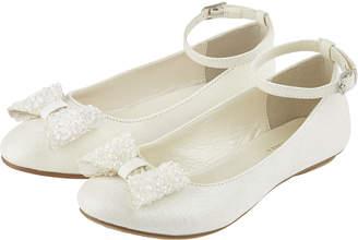 Monsoon Naomi Dazzle Bow Ballet Flats