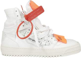 Off-White Off White Off Cout High Cut Sneakers
