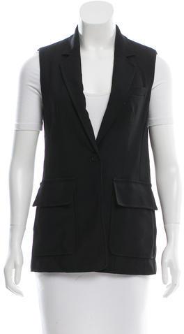 3.1 Phillip Lim3.1 Phillip Lim Notch-Lapel Paneled Vest