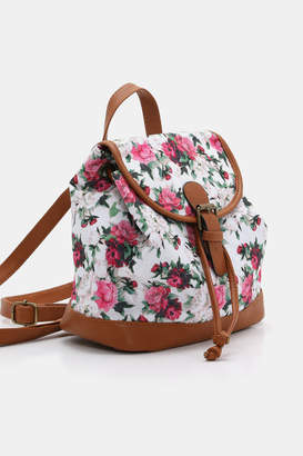 Ardene Small Floral Backpack