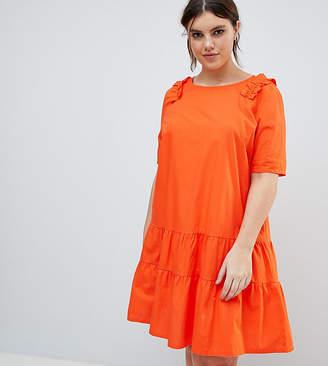 Junarose Frill Smock Dress