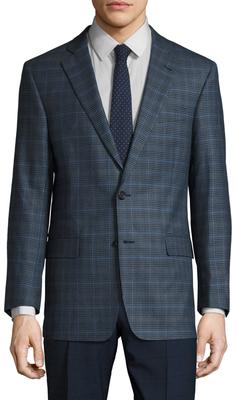 Brooks Brothers Wool Regent Plaid Sportcoat