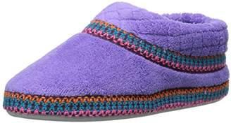 Muk Luks Women's Rita Micro Chenille Full Foot Slippers