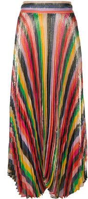 Alice + Olivia Alice+Olivia Katz Sunburst pleat skirt