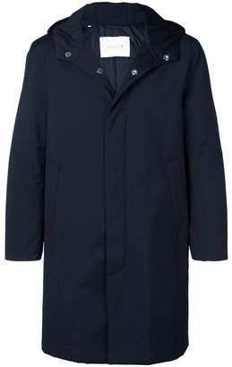 MACKINTOSH hooded down raincoat