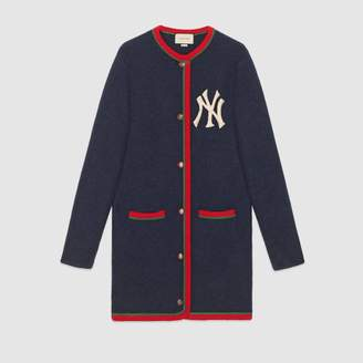 Gucci Women's cardigan with NY Yankees patch