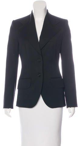 Dolce & GabbanaDolce & Gabbana Wide-Lapel Fitted Blazer