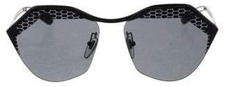 Bvlgari 2018 Serpenti Tinted Round Sunglasses