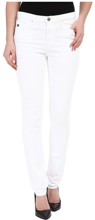 AG JeansAG Adriano Goldschmied - The Prima in White Women's Jeans