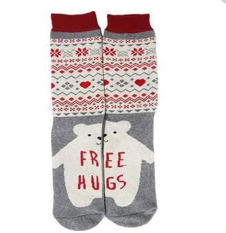 DAY Birger et Mikkelsen Christmas Holiday Casual Socks, Gmark Cotton Warm Socks Thick Soft Socks,Santa Claus Socks