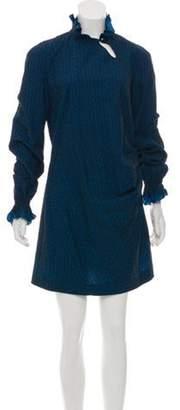 Roland Mouret Patterned Mini Dress Patterned Mini Dress