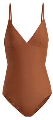 Matteau - The Plunge Swimsuit - Womens - Brown