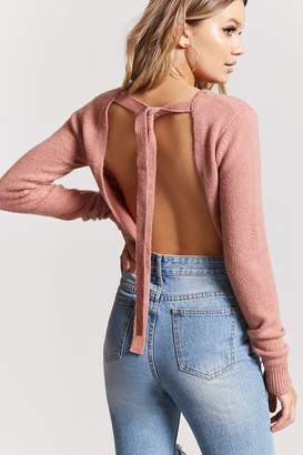 Forever 21 Tie-Back Sweater