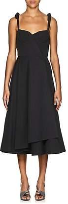 Brock Collection Women's Orsola Cotton Faille A-Line Dress - 001-Black