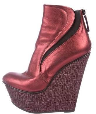 Baldan Leather Platform Boots