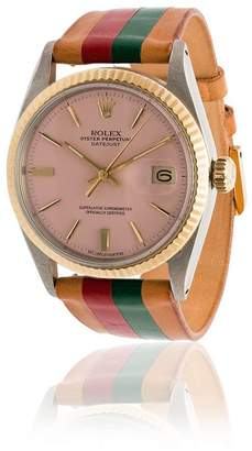 Rolex La Californienne red, orange and green italia 35mm watch