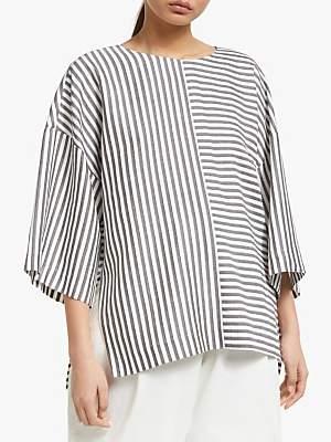KIN Stripe Top, Grey