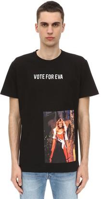 Triple Rrr VOTE FOR EVA COTTON JERSEY T-SHIRT