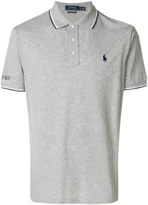 Polo Ralph Lauren striped trim polo shirt