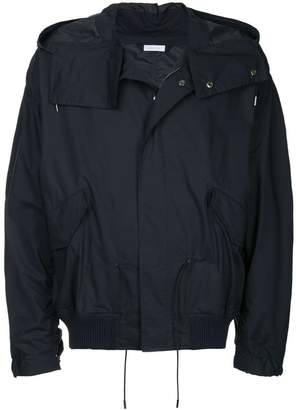 Jil Sander hooded functional jacket