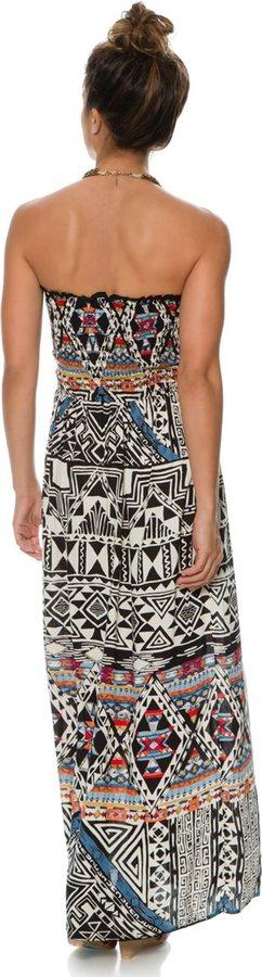 Angie Rachel Strapless Maxi Dress