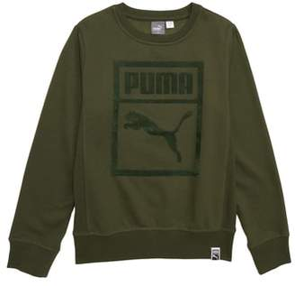 Puma Cotton Fleece Heritage Pullover