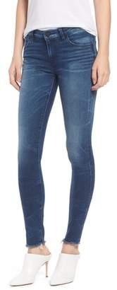 Hudson Jeans Krista Raw Hem Super Skinny Jeans