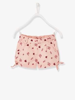 Vertbaudet Girls' Poplin Shorts