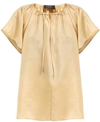 eab1cc4b9525ec Joseph Rita Paper Silk Blouse - Womens - Beige