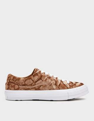 Converse Golf Le Fleur Ox Sneaker in Brown Sugar