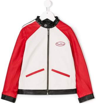 Moschino Kids color-blocked jacket