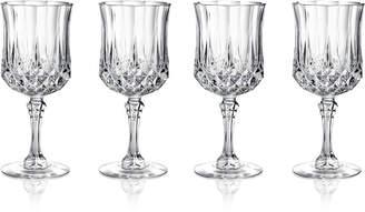 Longchamp Cristal D'Arques Set of 4 Cordial Glasses