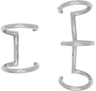 Marc Jacobs Silver Redux Grunge Ear Cuff Set