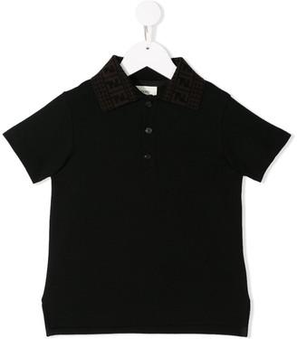 Fendi polo T-shirt