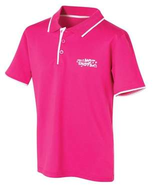 Hot Shots Girl's Court Tennis Polo