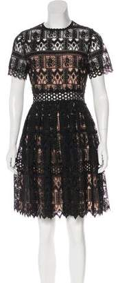 Alexis Guipure Lace A-Line Dress w/ Tags