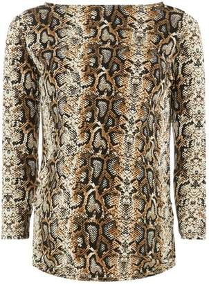 Dorothy Perkins Womens **Maternity Snake Print Top
