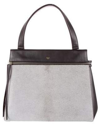 8a246b72898b Pre-Owned at TheRealReal · Celine Ponyhair Medium Edge Bag