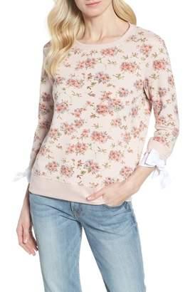 Gibson Poplin Cuff Sweatshirt