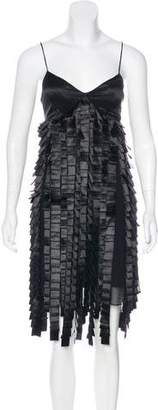 Sue Wong Silk Cocktail Dress