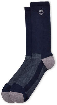 Timberland Two-Pack Coolmax Blend Crew Socks