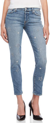 Hudson Riley Cropped Relaxed Jeans