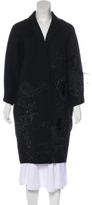 Kaufman Franco KAUFMANFRANCO Wool Embellished Coat