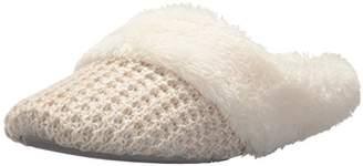 Dearfoams Women's Sweater Knit Closed Toe Scuff