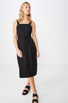 Cotton On Woven Missy Utility Midi Slip Dress
