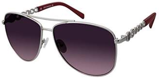 Rocawear Women's R687 SLV Aviator Sunglasses