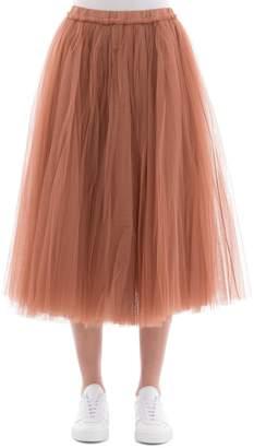 N°21 Pink Fabric Skirt